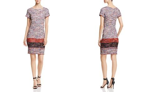 St. John Fringe-Trimmed Tweed Dress - Bloomingdale's_2