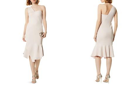 KAREN MILLEN One-Shoulder Midi Dress - Bloomingdale's_2