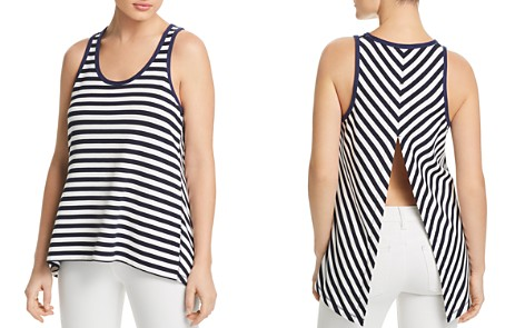 rag & bone/JEAN Kat Split-Back Striped Tank - Bloomingdale's_2