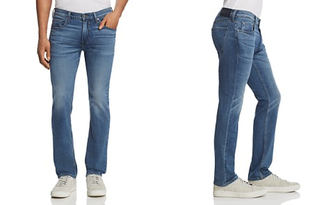 PAIGE Federal Slim Fit Jeans in Caine - Bloomingdale's_2