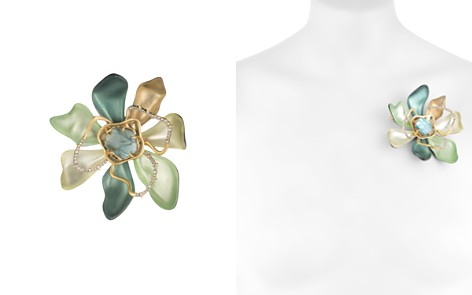 Alexis Bittar Block Flower Pin - Bloomingdale's_2