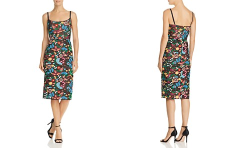 BCBGMAXAZRIA Embroidered Sheath Dress - Bloomingdale's_2