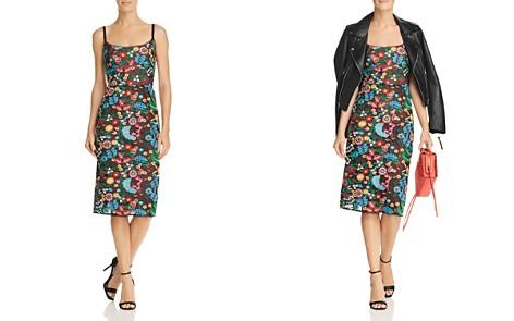 BCBGMAXAZRIA Embroidered Sheath Dress - Bloomingdale's_2