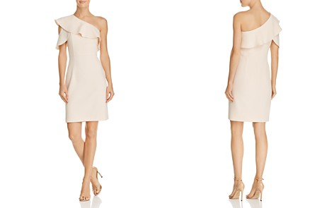 nanette Nanette Lepore One-Shoulder Crepe Dress - Bloomingdale's_2