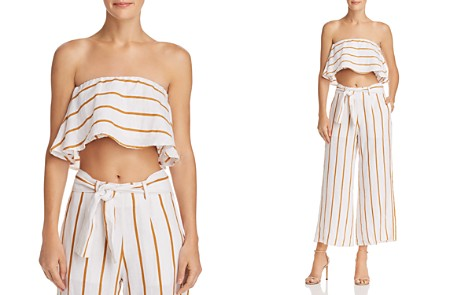 Faithfull the Brand Solana Strapless Crop Top - Bloomingdale's_2