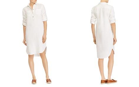 Lauren Ralph Lauren Linen Shirt Dress - Bloomingdale's_2