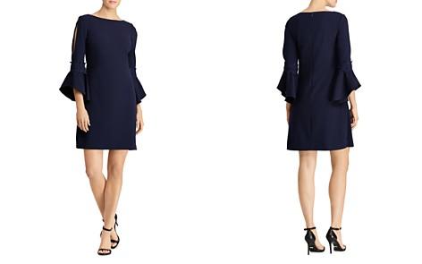 Lauren Ralph Lauren Bell-Sleeve Crepe Dress - Bloomingdale's_2