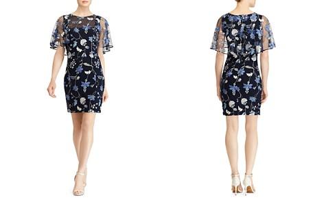Lauren Ralph Lauren Embroidered Overlay Dress - Bloomingdale's_2