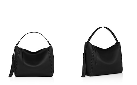 ALLSAINTS Kepi East/West Leather Shoulder Bag - Bloomingdale's_2