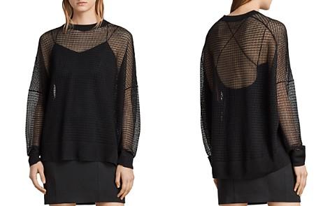 ALLSAINTS Rizo Open-Knit Sweater - Bloomingdale's_2