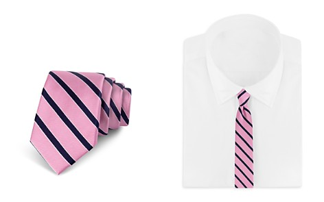 Bloomingdale's Boys Boys' Striped Tie - 100% Exclusive_2