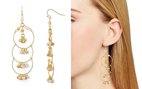 AQUA Multi-Loop Beaded Chandelier Earrings - 100% Exclusive - Bloomingdale's_2