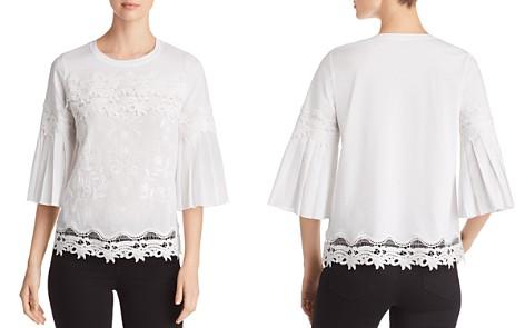 Kobi Halperin Indira Embroidered Bell-Sleeve Blouse - Bloomingdale's_2