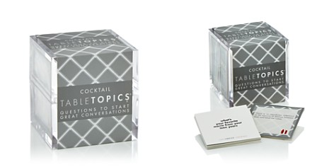 TableTopics Cocktail Party Conversation Starters Cube - Bloomingdale's_2