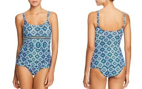 Profile by Gottex Collage Tankini Top & Printed Full Bikini Bottom - Bloomingdale's_2