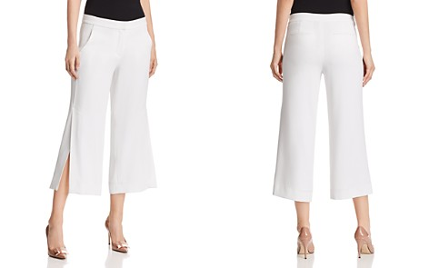 Elie Tahari Eloisa Wide-Leg Crop Pants - Bloomingdale's_2