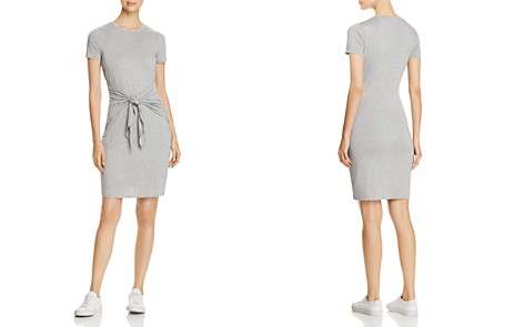 Three Dots Jersey Tie-Front Dress - Bloomingdale's_2