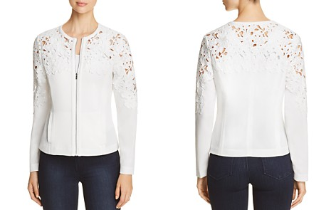 Bagatelle Crochet Zip-Front Jacket - Bloomingdale's_2