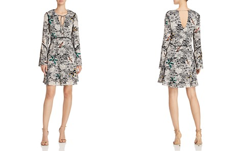 Sam Edelman Printed Bell-Sleeve Dress - Bloomingdale's_2