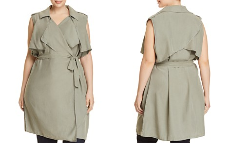 Bagatelle Plus Trench Vest - 100% Exclusive - Bloomingdale's_2