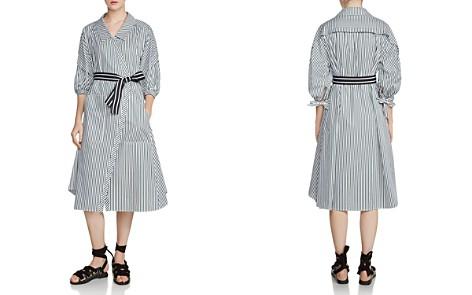 Maje Rilucci Oversized Striped Shirt Dress - Bloomingdale's_2