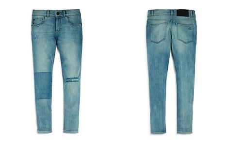 DL1961 Boys' Contrast Distressed Skinny Jeans - Big Kid - Bloomingdale's_2