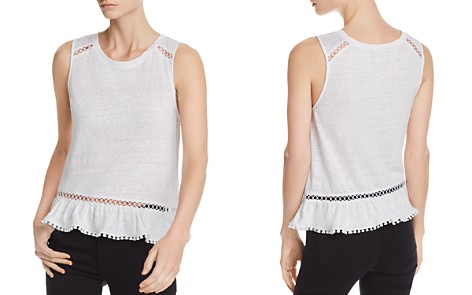 Generation Love Milah Lace-Inset Flounced Tank - Bloomingdale's_2