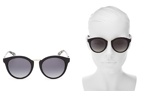kate spade new york Women's Joylyn Round Sunglasses, 50mm - Bloomingdale's_2