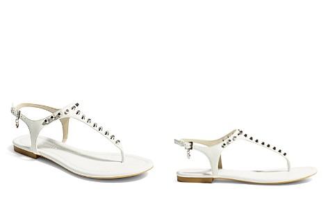 KAREN MILLEN Women's Studded Thong Sandals - Bloomingdale's_2