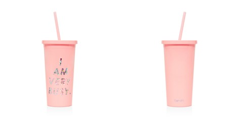 ban.do I Am Very Busy Sip Sip Tumbler with Straw - Bloomingdale's_2