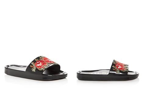 Melissa Women's Floral Pool Slide Sandals - Bloomingdale's_2