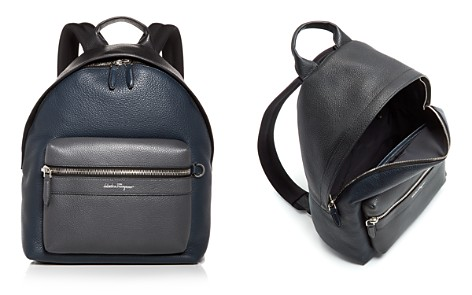 Salvatore Ferragamo Leather Backpack - Bloomingdale's_2