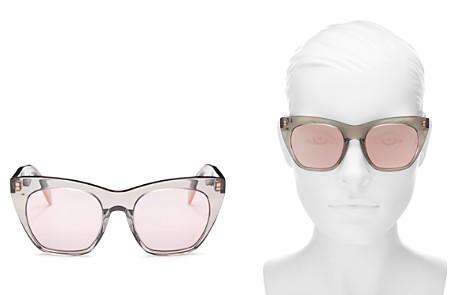 rag & bone Women's Mirrored Cat Eye Sunglasses, 52mm - Bloomingdale's_2