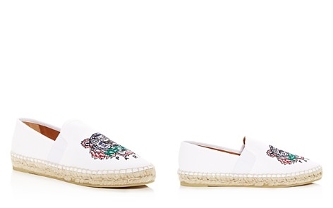 Kenzo Women's City Tiger-Embroidered Espadrille Flats - Bloomingdale's_2