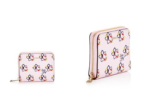 Furla Hello Kitty Embossed Leather Zip Wallet - Bloomingdale's_2