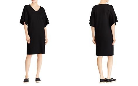 Lauren Ralph Lauren Ponte Flutter-Sleeve Shift Dress - Bloomingdale's_2