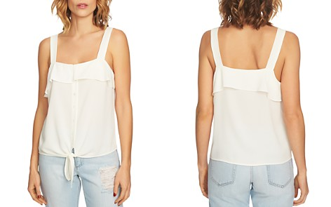 1.STATE Ruffle-Trim Tie-Front Top - Bloomingdale's_2