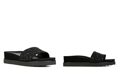 Donald Pliner Women's Leather Platform Wedge Slide Sandals - Bloomingdale's_2