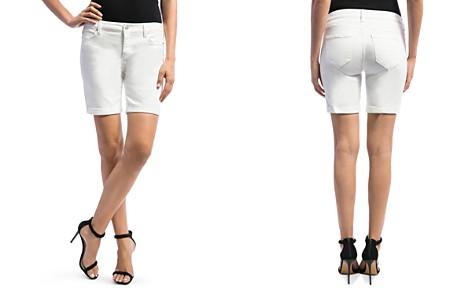 Liverpool Corine Denim Shorts in Bright White - Bloomingdale's_2