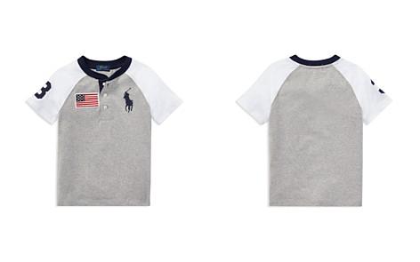 Polo Ralph Lauren Boys' Cotton Jersey Big Pony Henley Tee - Little Kid - Bloomingdale's_2