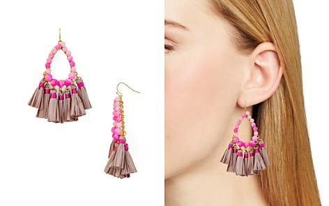 AQUA Tassel Earrings - 100% Exclusive - Bloomingdale's_2