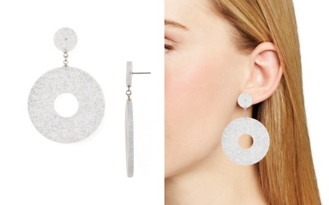 AQUA Glitter Lucite Earrings - 100% Exclusive - Bloomingdale's_2