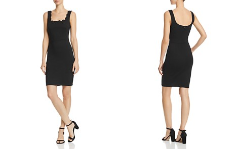 AQUA Scalloped Body-Con Dress - 100% Exclusive - Bloomingdale's_2