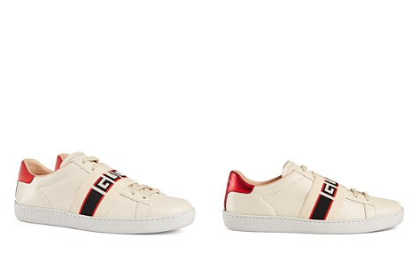Gucci Women's Ace Leather Logo Stripe Sneakers - Bloomingdale's_2