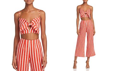 Faithfull the Brand De Fiori Striped Crop Top - Bloomingdale's_2