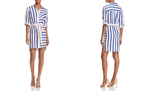 MILLY Striped Shirt Dress - Bloomingdale's_2