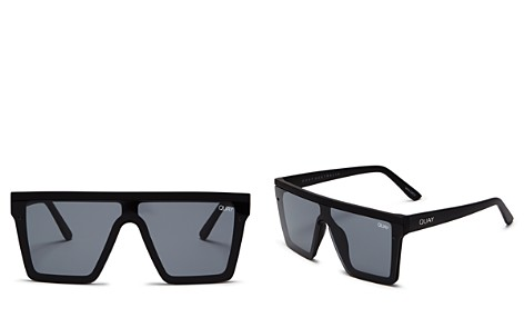 Quay Hindsight Shield Sunglasses, 56mm - Bloomingdale's_2