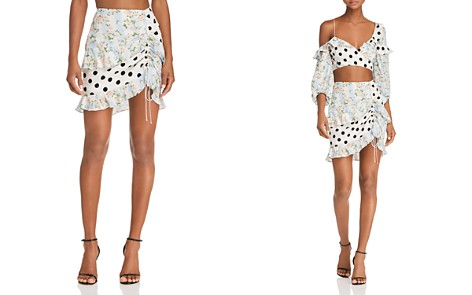 For Love & Lemons St. Louis Mini Skirt - Bloomingdale's_2
