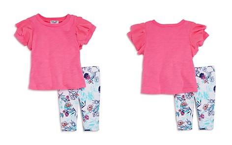 Splendid Girls' Ruffled Tee & Floral Leggings Set - Baby - Bloomingdale's_2