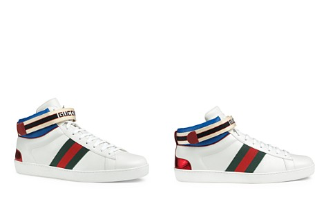 Gucci Men's Stripe High Top Sneakers - Bloomingdale's_2